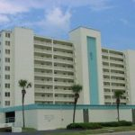 Ormond Beach SurfSide South Club garage and building